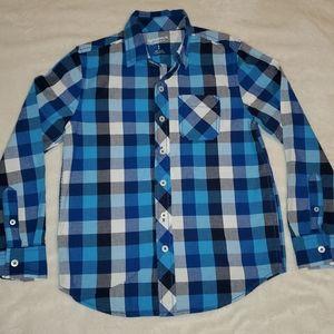 Boy's 8 Arizona Button Down Shirt EUC